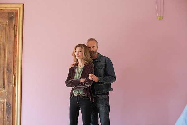 Reya Galen und Künstler Erwin Wurm